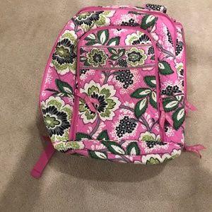 Vera Bradley Priscilla Pink backpack
